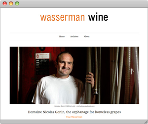 screenshow www.wassermanwine.com